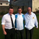 Toby Taylor, Stevie McArdle and Davie Scott
